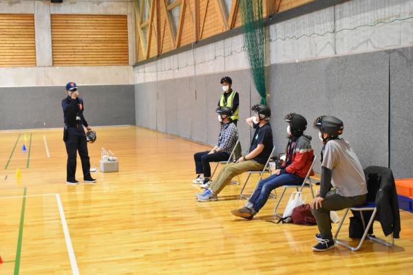 長野県蓼科高原女神湖体育館でのドローン講習会
