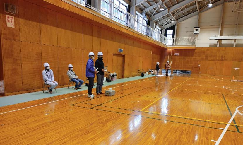 新設された「ドローン講習会推奨ベーシックコース in 京都」の様子